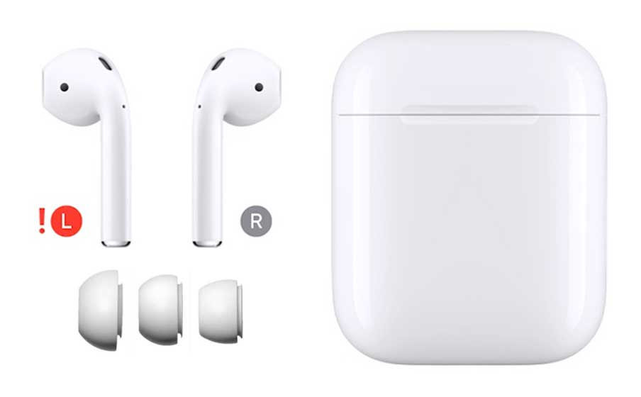 airpods singles and parts