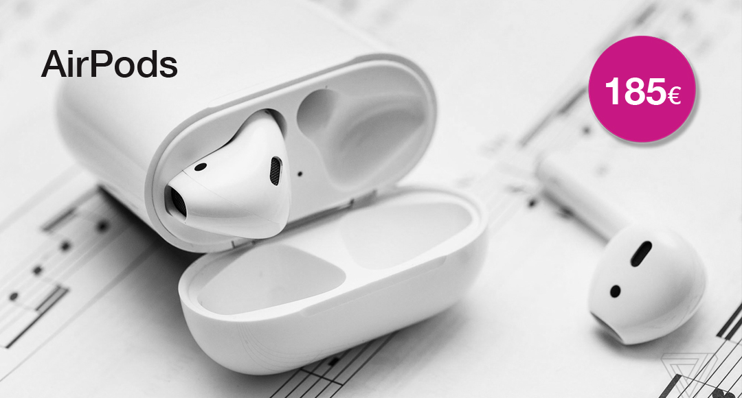AirPods 185€