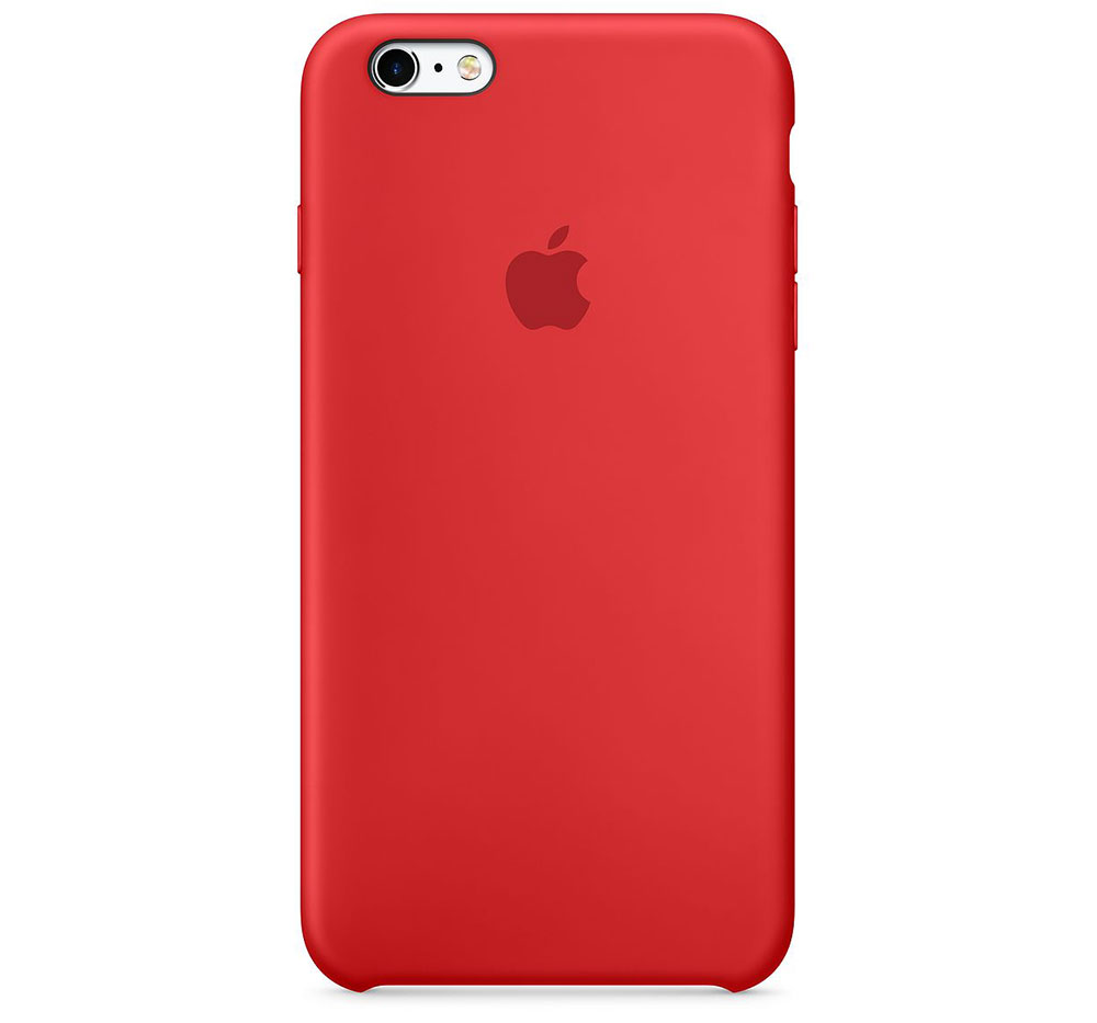 Apple iPhone 8 Plus 7 Plus Leather Case (PRODUCT) RED