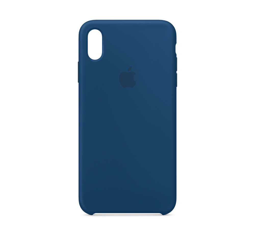 finest selection 5195f ce1dc Apple, Silicone Case - Blue Horizon(iPhone Xs)